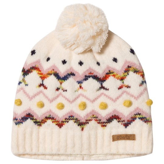 Barts White Faira Beanie White