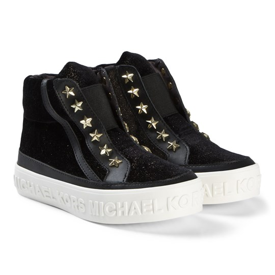 Michael Kors Black Lemo Rock Sneakers Black