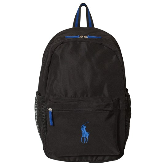 Ralph Lauren Black Academy Nylon Backpack Black