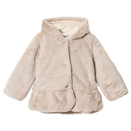 Dr Kid Brow Faux Fur Cropped Hooded Coat 400