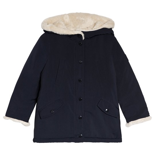 Bonpoint Navy Water-Repellent Coat 070