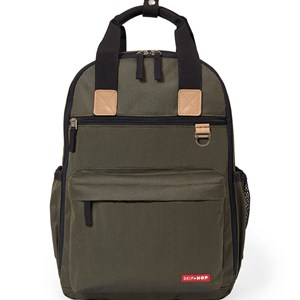 Image of Skip Hop Duo Diaper Backpack Olive (3125254291)