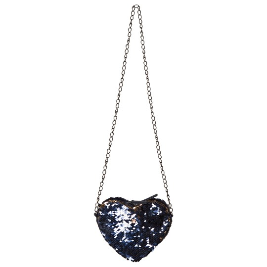 IKKS Navy Heart Shaped Shoulder Bag 48