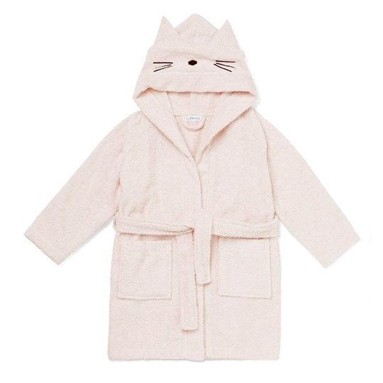 Liewood Lily Bathrobe Cat Sweet Rose 0021 Cat sweet rose