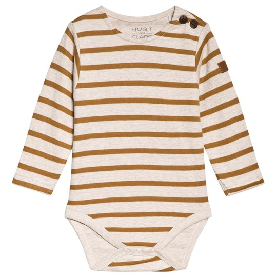 Hust&Claire Boris Baby Body Yellow Ochre