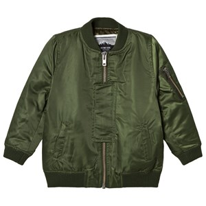 Image of Sometime Soon Calle Bomber Jacket Green 10 år (3125294155)