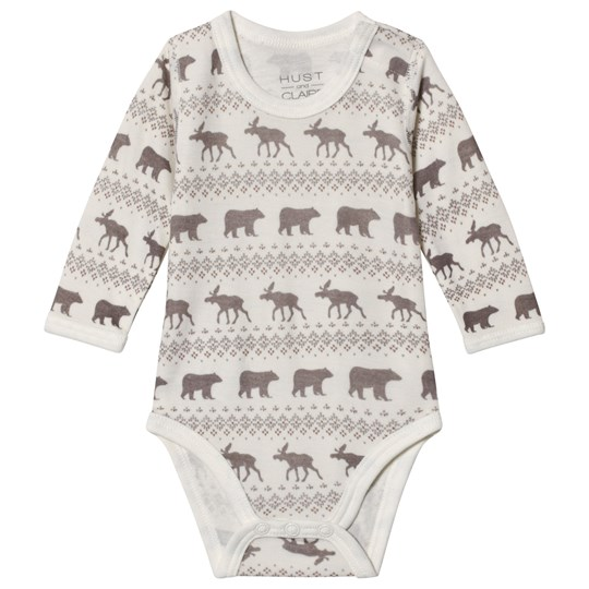Hust&Claire White Baloo Baby Body Off white