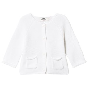 Image of Cyrillus White Cardigan with Pockets 1 month (3125291559)