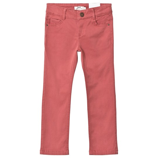 Cyrillus Red Slim Twill Pants 6635