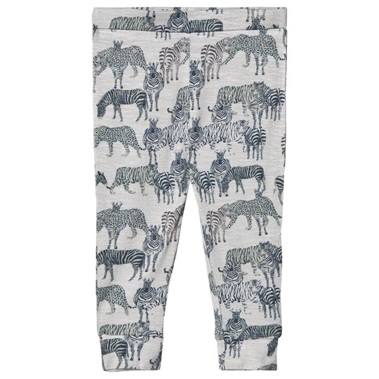 Petit by Sofie Schnoor Grey Melange Leggings Grey Melange
