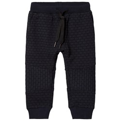 Petit by Sofie Schnoor Navy Blue Quilted Sweatpants