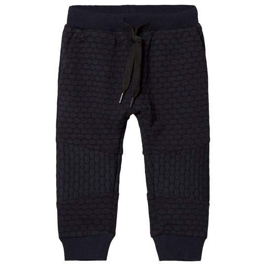 Petit by Sofie Schnoor Navy Blue Quilted Sweatpants D.BLUE