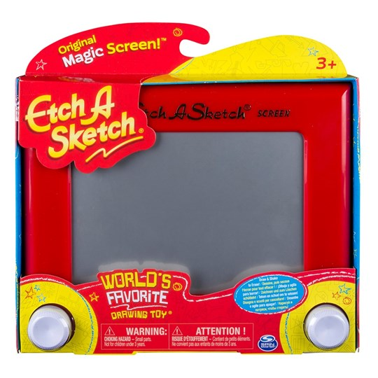 My Little Artist Etch A Sketch Classic Rød