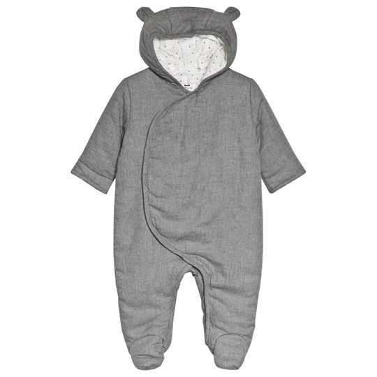 Cyrillus Grey Padded Coverall 6449