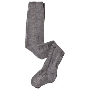 Image of MP Ted Tights Grey Marled 70 (0-6 mdr) (3058030465)