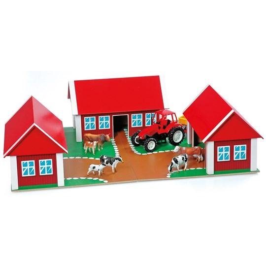 Animal Kingdom Wooden farmhouse Red