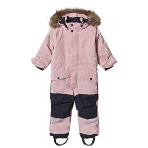 Image of Didriksons Björnen Kids Winter Coverall 2.0 Dusty Pink 110 (4-5 år) (3056106039)