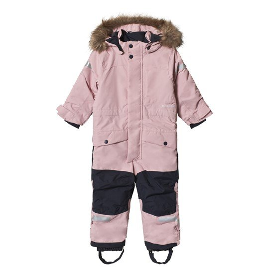 Didriksons Björnen Kids Winter Coverall 2.0 Dusty Pink Dusty Pink