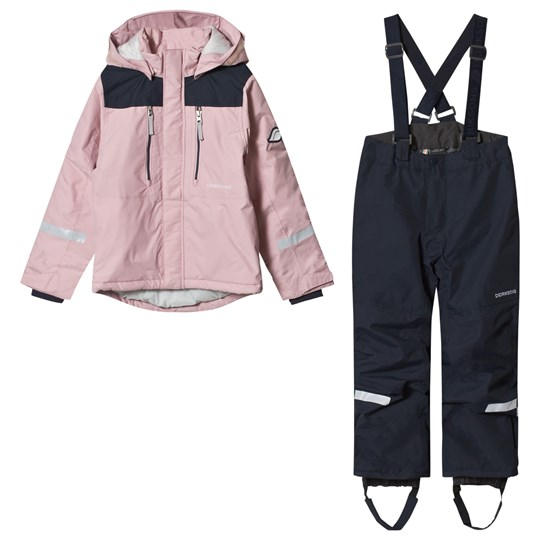 Didriksons Hamres Kid´s Set Dusty Pink Dusty Pink