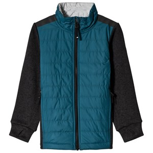 Image of Didriksons Originals Girard Kids Jacket Light Port Blue 110 cm (4-5 år) (3056106223)