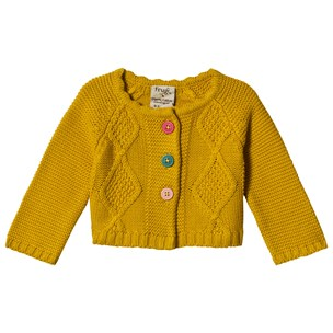 9f855d46 Frugi. Carrie Cable Cardigan Mustard