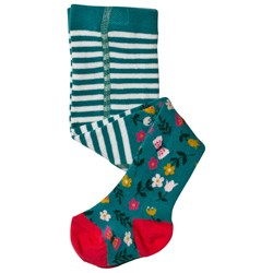 Frugi Little Norah Tights Alpine Meadow