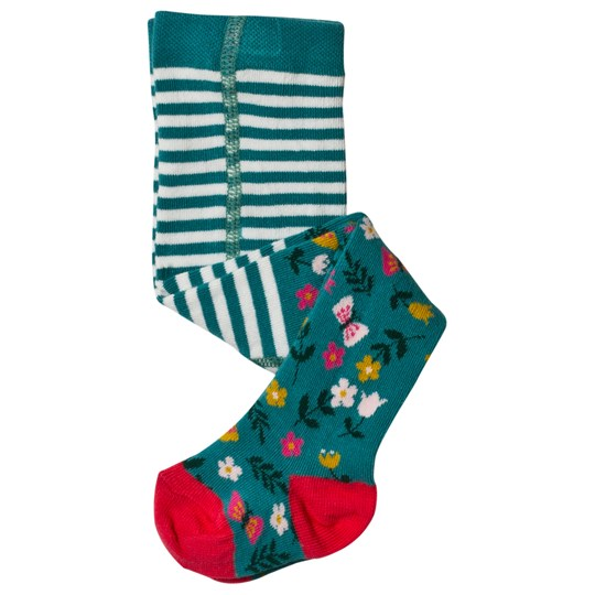 Frugi Little Norah Tights Alpine Meadow Alpine Meadow_AW18