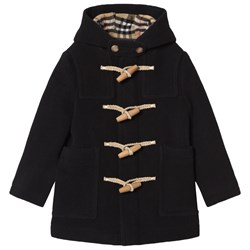 Burberry Double-Faced Duffle Coat Black