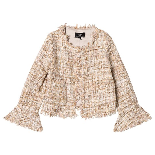 Bardot Junior Gold Ari Boucle Jacket GOLD BOUCLE