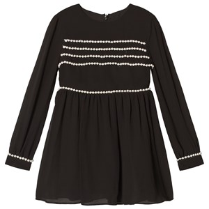 Bilde av Bardot Junior Black Valentina Pearl Dress 5 Years