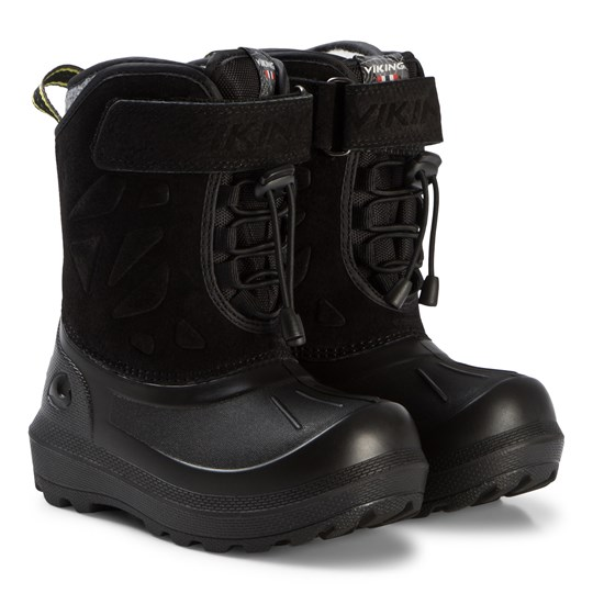 Viking Nordlys Suede Thermo Boots Black/Dark Grey BLACK/DARK GREY