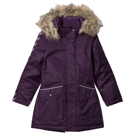 Hummel Stinna Winter Coat Blackberry Cordial Blackberry Cordial