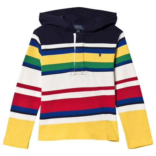 Ralph Lauren Long Sleeve Multi Stripe Hoodie with PP 001