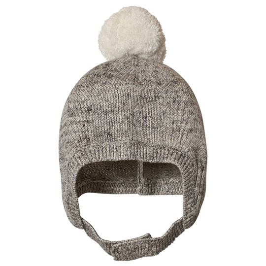 GAP Grey Marl Pom-Pom Hat Ha33789Arnd Grey Marl