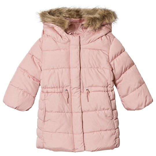 GAP Long Line Coat Frosted Pink Frosted Pink