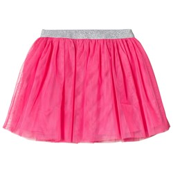 Lands' End Pink Bright Fuchsia Soft Tulle Skirt