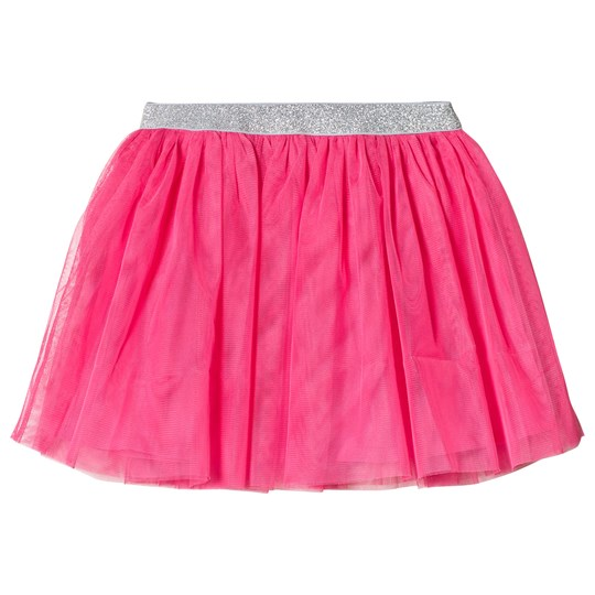 Lands' End Pink Bright Fuchsia Soft Tulle Skirt BFU