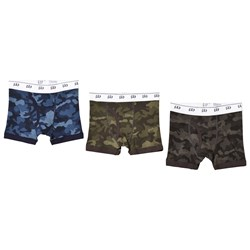 GAP 3-Pack Camo Boxer Briefs Camouflage