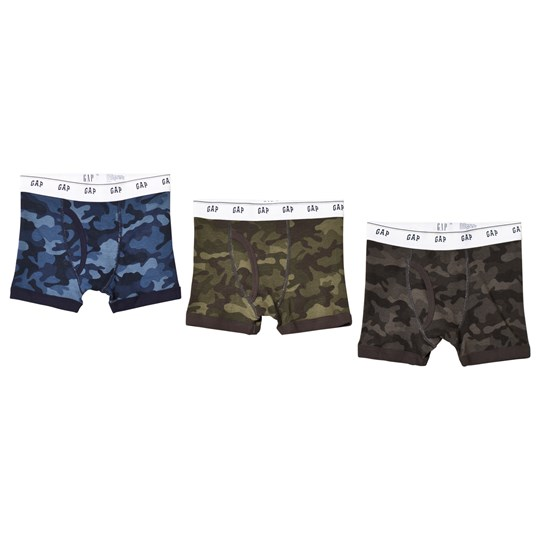Gap 3-Pack Camo Boxer Kalsonger Camouflage Camouflage