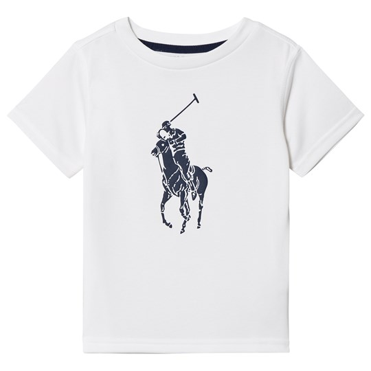 Ralph Lauren White Performance Tee 001