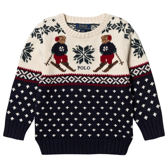 Ralph Lauren Fairisle Bear Knit Sweater 001