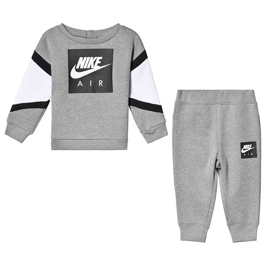 NIKE Grey Air Crew and Joggers Set 042