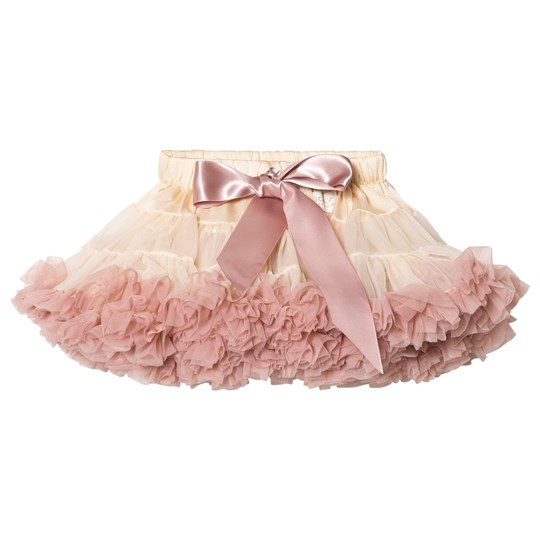 DOLLY by Le Petit Tom Brigitte Bardot Pettiskirt Cream/Dusty Pink Creme/Dusty Pink