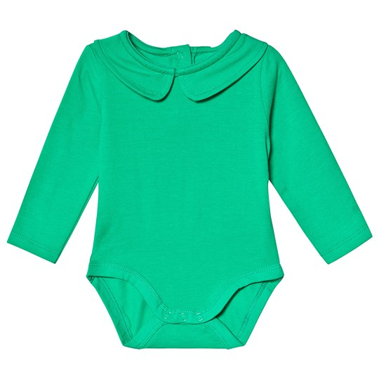 A Happy Brand Collar Baby Body Green