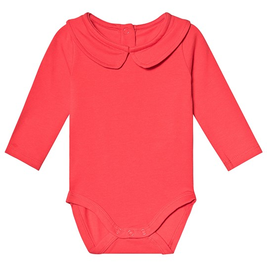 A Happy Brand Collar Baby Body Red
