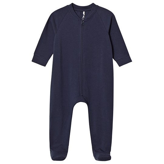 A Happy Brand Footed Baby Body Navy