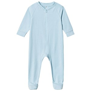 Image of A Happy Brand Footed Baby Body Blue 62/68 cm (1208739)