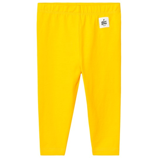 A Happy Brand Baby Leggings Yellow