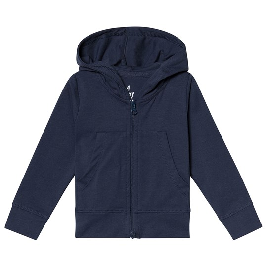 A Happy Brand Baby Hoodie Navy