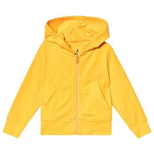 A Happy Brand Baby Hoodie Yellow